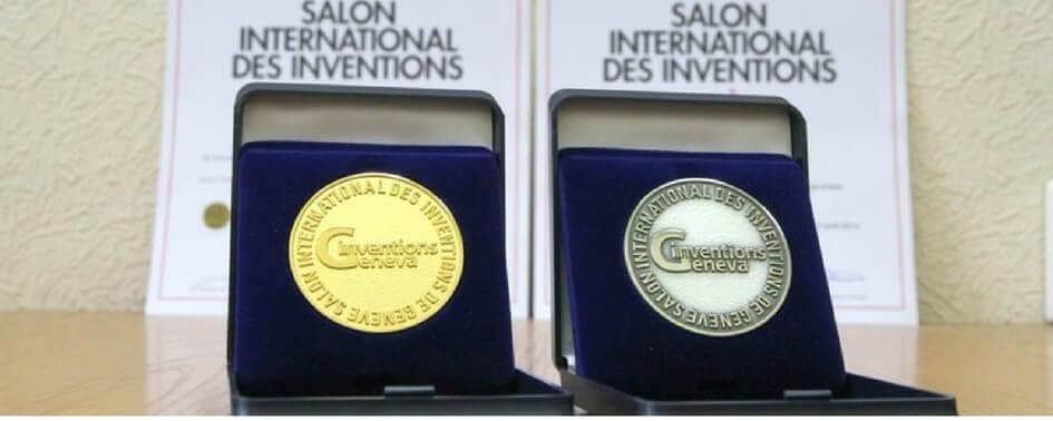 Geneva Medal and TUV Certification
