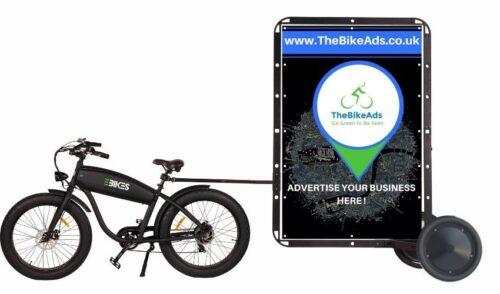 Premium Advertising Bike For Sale