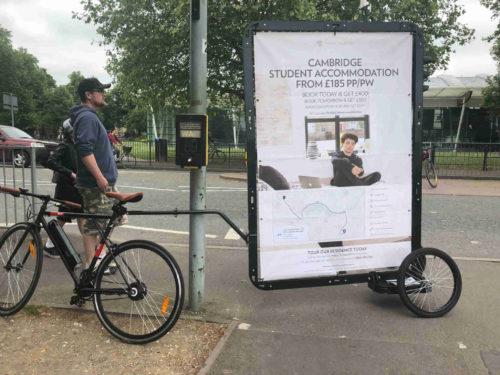Advertising Bike In Cambridge (Nido Collection)
