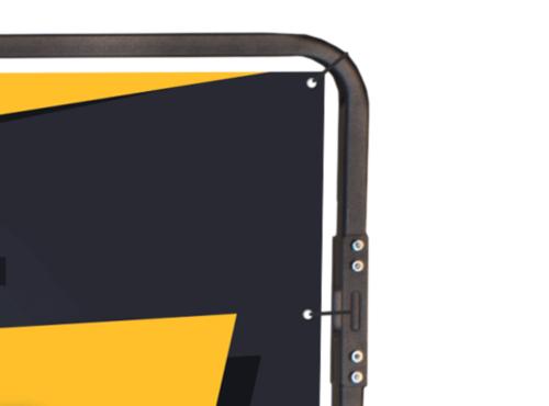 Banner Fixing For Standard AdBike